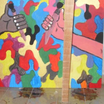 """Laboratori di pittura """"Proviamo a riflettere"""": l'arte dei minori a rischio"""
